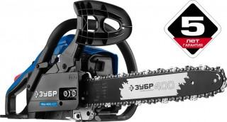 Бензопила ЗУБР ПБЦ-400 40п — достоинства, особенности, характеристики
