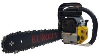 Бензопила Eurolux GS-4516 : немецкая бензопила по цене китайской